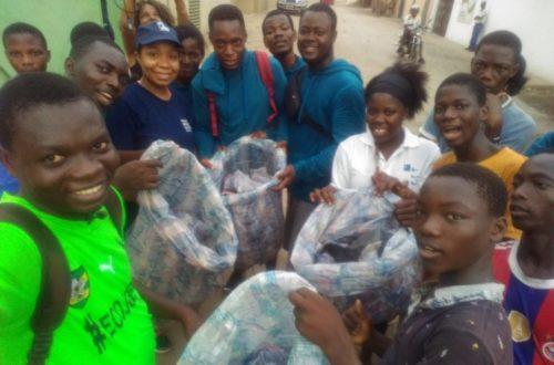 Article : Ecojogging, la jeunesse togolaise déterminée à éliminer les déchets plastiques