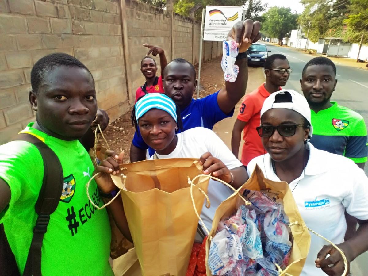 Les Ecojoggeurs en action